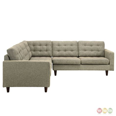 3 piece sofa set cheap empress 3 piece button tufted upholstered sectional sofa