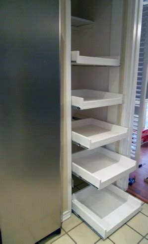 how to make a pantry out of a bookcase diy tutorial how to make pull out shelves for your
