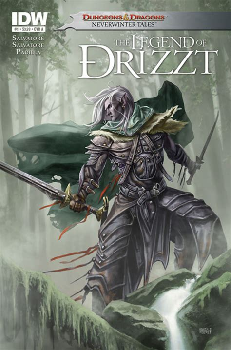drizzt 011 forgotten realms dungeons dragons the legend of drizzt comics ign