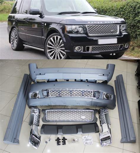range rover l322 rear bumper range rover vogue 02 13 l322 autobiography kit front