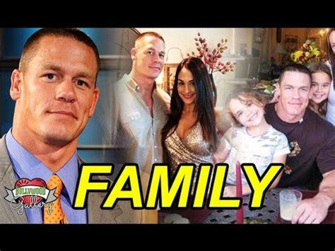 nikki bella parents wwe john cena family with parents wife nikki bella and