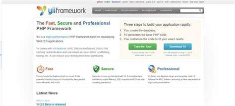 Calendar Extension For Yii Framework 10 Best Useful Free Php Frameworks 2016 Webdesignlike