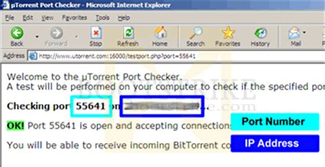 ip and port check tutorial to creating a torrent file in utorrent
