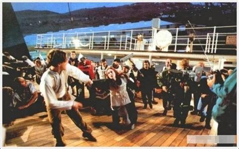 film titanic making of 25 behind the scenes photos of the cast and making of