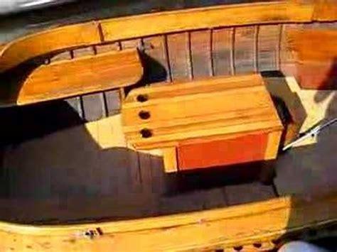 sloep accessoires klassieke houten sloep youtube