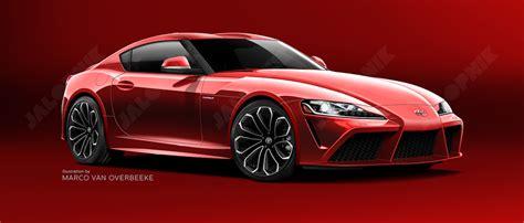 New Toyota Supra Jalopnik New Toyota Supra Rendering Based On Insider Info