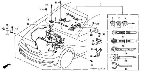 2000 honda accord speaker wiring harness 40 wiring