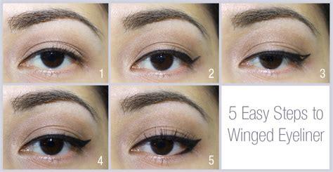 simple eyeliner tutorial kohl basic winged eyeliner professional makeup artist manila