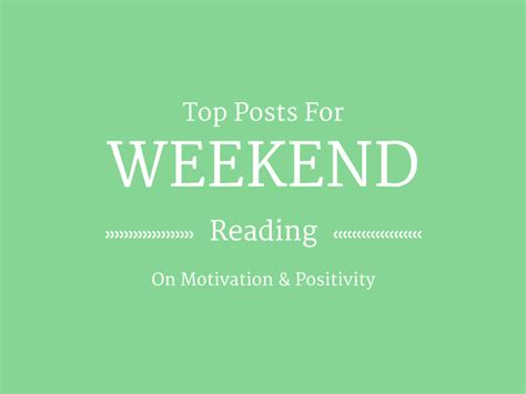 Weekend Reads Product 4 2 by Weekend Reading On Motivation Positivity