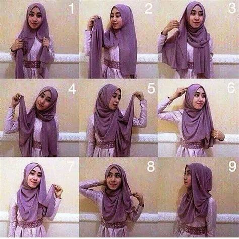 tutorial hijab pashmina laudya cynthia bella 226 best tutorial hijab images on pinterest