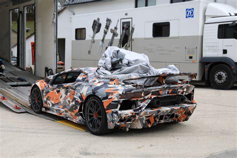 Lamborghini Aventador Transmission by Wordt De Aventador Svj De Snelste Op De N 252 Rburgring