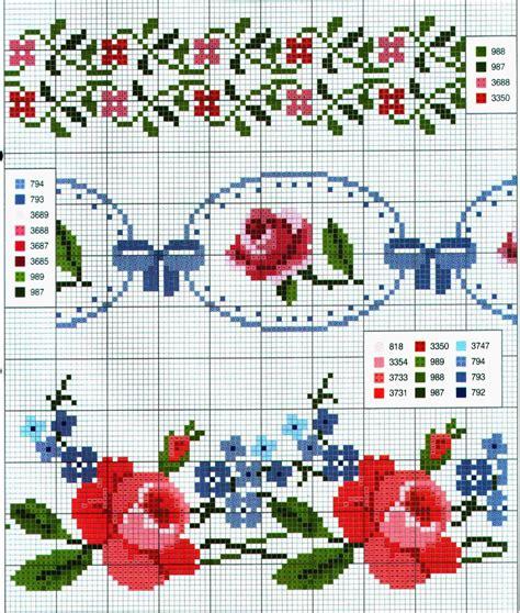 punto croce cornici ricami e schemi a punto croce gratuiti schemi a punto