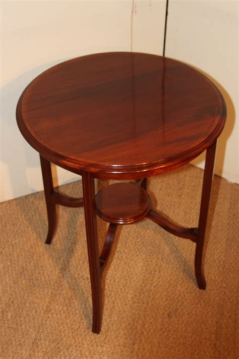 Mahogany Side Table Edwardian Mahogany Side Table 235185 Sellingantiques Co Uk