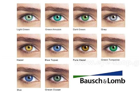 Softlens Soflens Cupid Brown contact lenses bausch lomb colors coloured eye shop