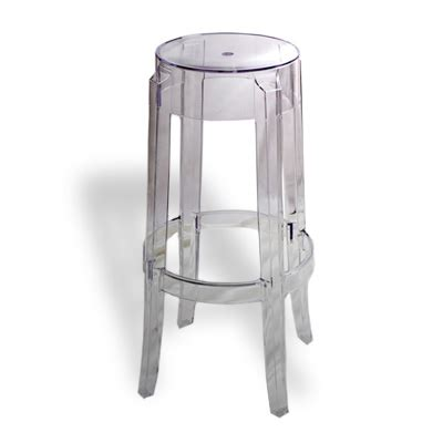 Kartell Sgabello Ghost by Sgabello Kartell Charles Ghost
