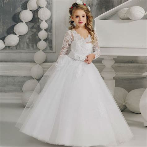 country dresses for 60 year old flower girls dresses for wedding white girls ball gown