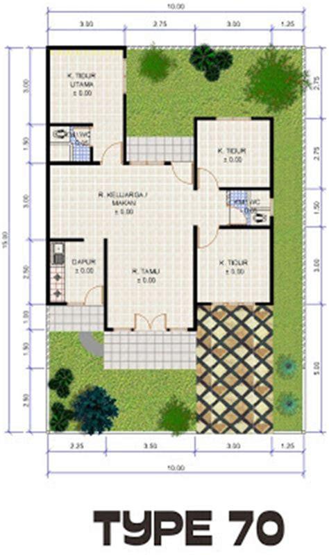 gambar desain dan denah rumah type 70 150 desain denah rumah terbaru denah rumah minimalis