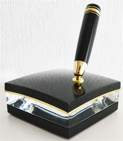 mont blanc desk pen mont blanc luxury desk set catawiki