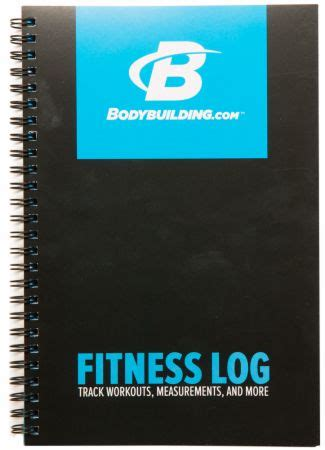 fitness log  bodybuildingcom accessories