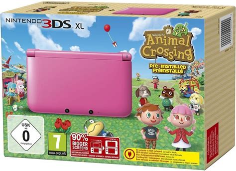 animal crossing 3ds console console 3ds xl animal crossing new leaf acheter