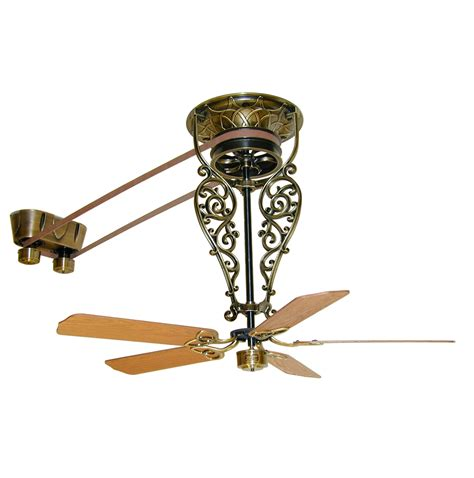 vintage belt driven ceiling fans vintage ceiling fans with lights a beautiful vintage
