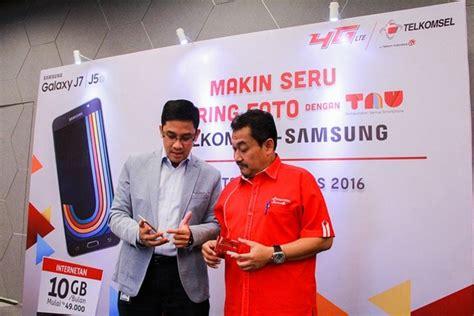 Harga Samsung J5 Kota Bandung telkomsel gelar promo bundling samsung galaxy j5 dan