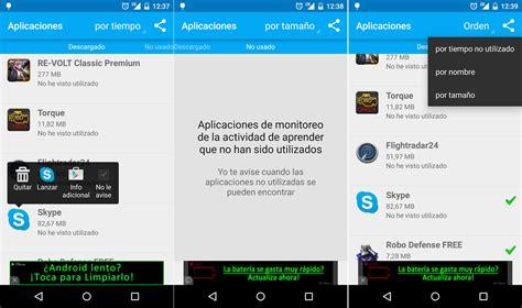app remover for android app remover para recuperar espacio en androidandroid f 225 cil