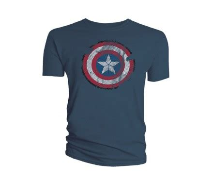 T641 Shirt New Captain America 09 shirt gris shield captain america 648