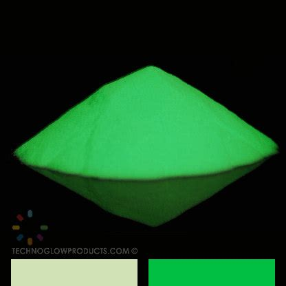 green glow in the pigment powder green glow in the pigment powder by technoglowproducts