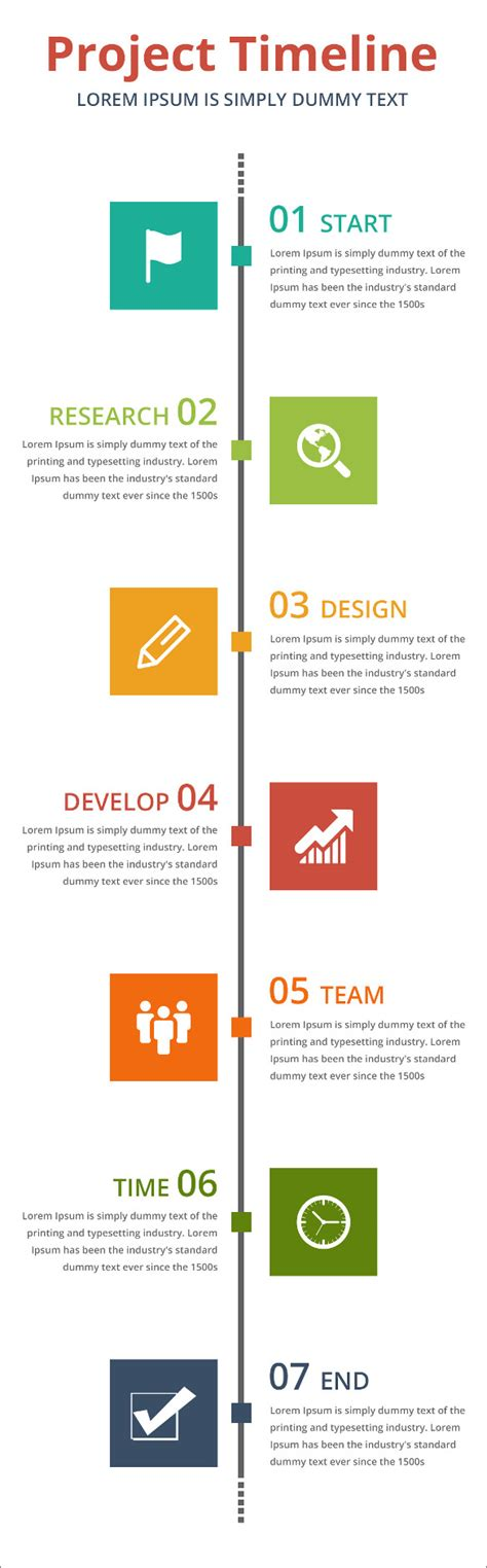 timeline template powerpoint free 9 project timeline templates free ppt documents