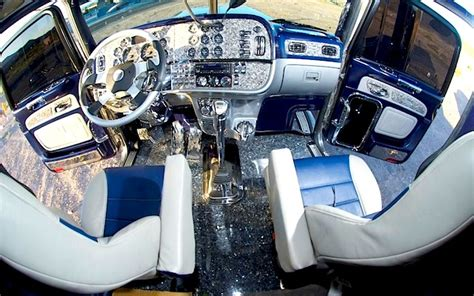 Upholstery Paint Walmart 10 Amazing Big Rig Interiors That Ll Blow You Away