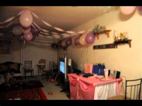 how to decorate for a birthday party at home samayera s princes theme birthday party decoration