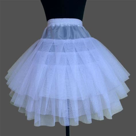 ebay petticoats new white 3 layers vintage organza petticoat skirt wedding dress ebay