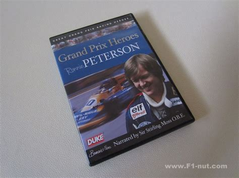 aj how alan jones climbed to the top of formula one books dvd review grand prix heroes ronnie peterson by duke