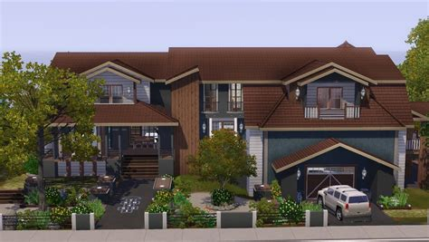 The Sims 3   House Building   Saddle Stone   YouTube