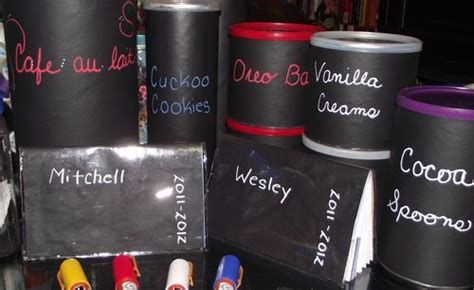 diy chalk paint formula favors paint leftover baby formula cans with