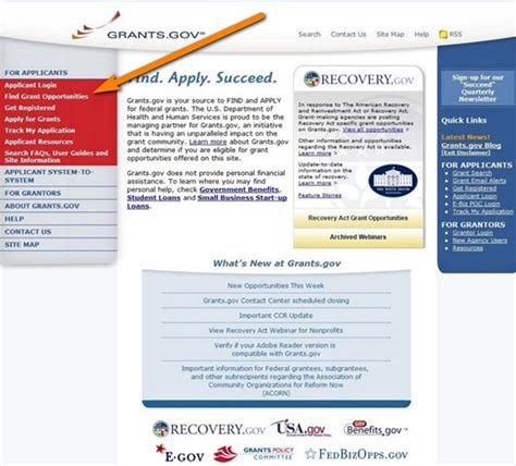 Us Federal Search How To Get Government Grants Steps