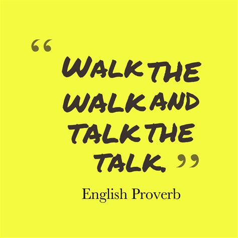 Talk The Talk by Picture Proverb About Task Quotescover