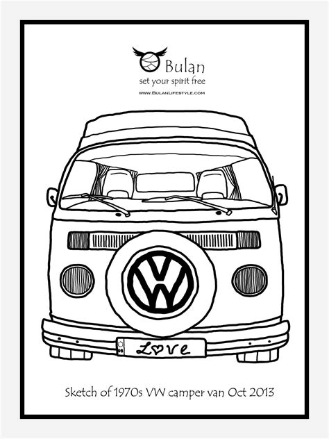 volkswagen drawing vw cervan drawing drawing vw vw