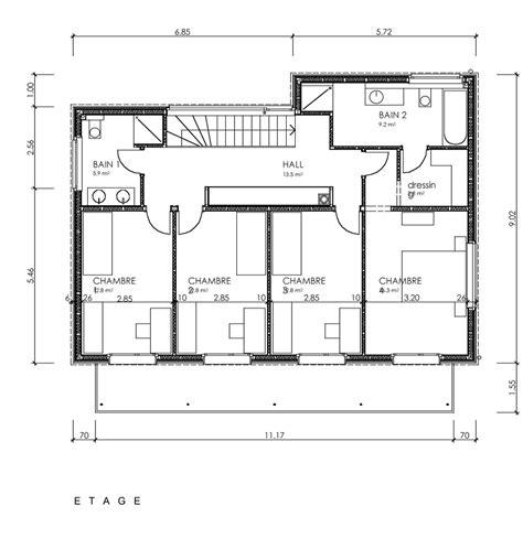 plan images plan architecte maison moderne