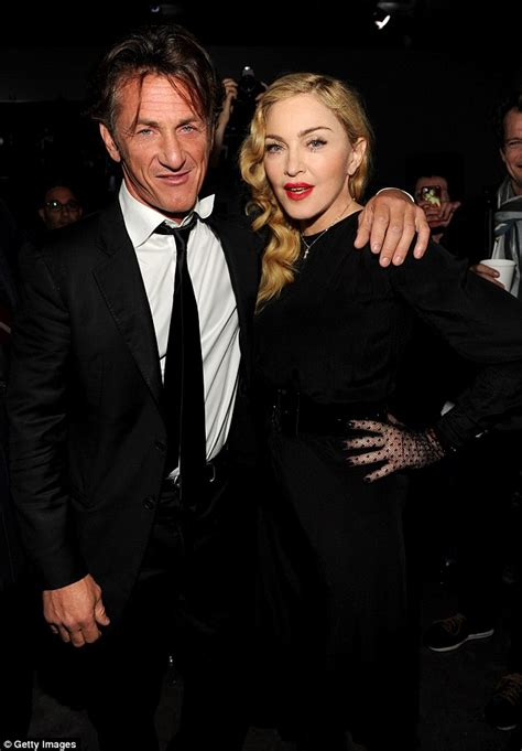 Did Penns Remind Him Of Madonna by Penn Seen A Pretty In