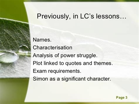 lord of the flies themes lesson plans 5 lotf structure