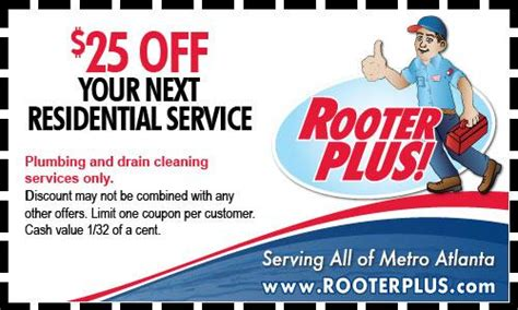 Done Plumbing Coupons by Coupon Specials Plumbing Heating Services Atlanta