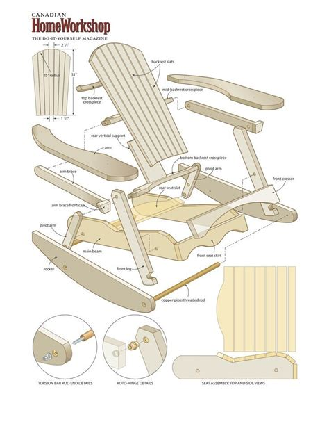 wood pattern for child s rocking chair 34 best images about adirondack chair plans on pinterest