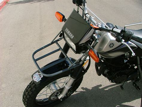 Racks For Motorcycles by Yamaha Tw200 Front Motorcycle Rack Ebay