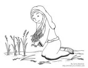 coloring pages for ruth and ruth and printable coloring pages