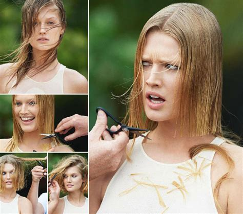 Leo DiCaprio's Girlfriend, Toni Garrn New Haircut For