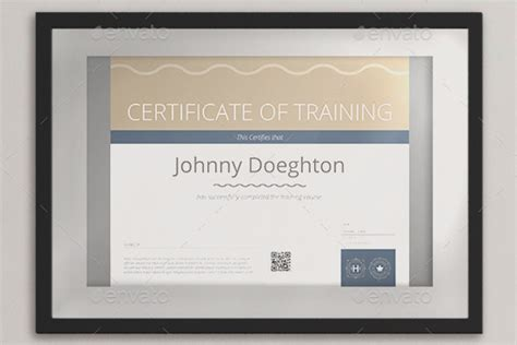30 training certificate templates free word pdf ppt