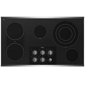whirlpool gold 36 electric cooktop shop whirlpool gold 36 in smooth surface electric cooktop