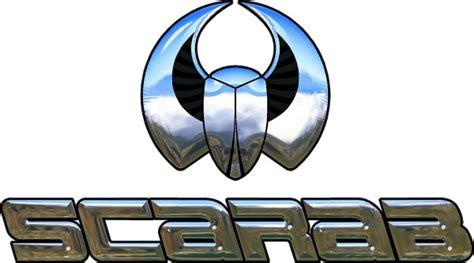 scarab boat logo font scarab decal sticker